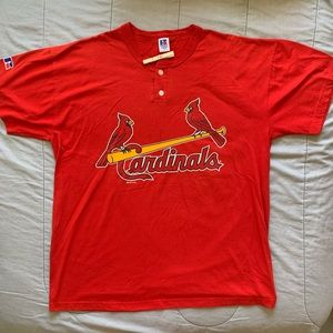RUSSELL ATHLETIC ST LOUIS CARDINALS SHIRT